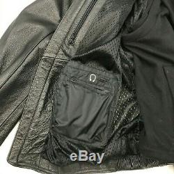 $525 NEW WithTAGS Harley Davidson ROAD WARRIOR Reflective Leather Jacket XL Hoodie