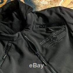 98164-17em Harley-davidson Reflective Skull 3-in-1 Soft She Riding Jacketnew