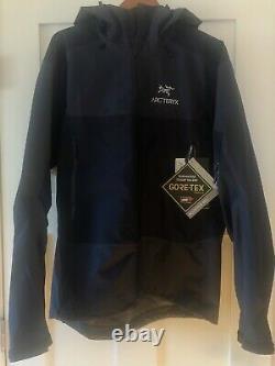 ARCTERYX Men Beta SL Hybrid Jacket(L)GoreTex Hooded JacketHardshellGray BLUE