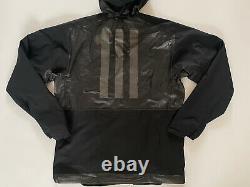Adidas Men Terrex 2.5 Layer Zupahike Rain Jacket Hiking Running Black Fj9366 M