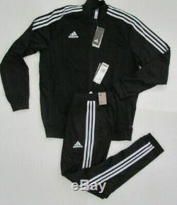Adidas Men's Tiro 19 Track Suit, New Jacket Pant Combo Sweatpants Climalite Sz L