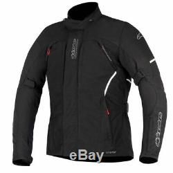 Alpinestars Ares Gore-Tex GTX Waterproof Textile Motorcycle Jacket Black SALE