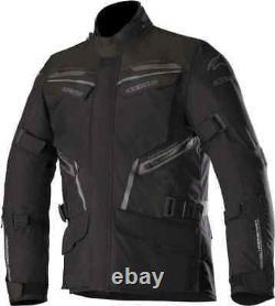 Alpinestars Patron Gore-Tex GTX Jacket Waterproof Black Motorbike Motorcycle XL