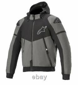 Alpinestars SEKTOR V2 Tech Motorcycle/Motorbike Casual look Sports Hoodie-Grey