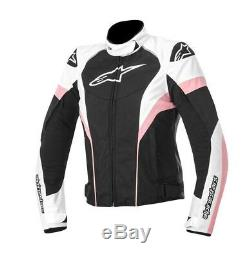 Alpinestars STELLA T-GP PLUS R Pink Textile Ladies Motorcycle Jacket Last few