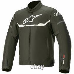 Alpinestars T-SPS Waterproof Textile Jacket Motorbike Motorcycle Black White