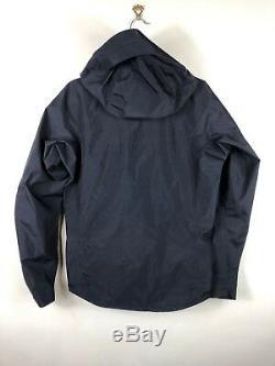 Arc'teryx Ascent Alpha SL Packable Anorak Jacket Gore-Tex Black Mens XS NWT