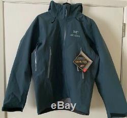 Arcteryx Beta AR Gore-Tex Shell Jacket Mens Neptune Large New 2020 Virgil Abloh