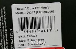 Arcteryx Mens Theta AR Gore-Tex Pro Jacket XL Black- New