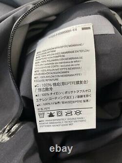 Arcteryx Zeta AR Gore-Tex Hard Shell Jacket Black 16473 New WithTags Mens XL