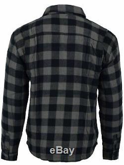 Australian Bikers Gear Motorcycle Flannel Lumberjack shirt lined DuPont KEVLAR