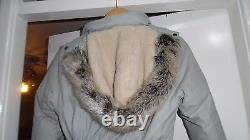 BARBOUR Arctic Expedition Fibre Down Padded KIRBY Puffa COAT Jacket Size UK 10