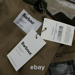 BARBOUR X MARGARET HOWELL A7 Men's Coated Green Parka Jacket Coat