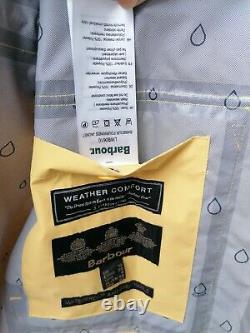 BNWT Barbour Womens Fourwinds Waterproof Jacket Yellow UK12 14 16 rrp£169