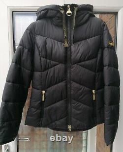 BNWT Womens Barbour International Lydden Quilted Jacket Black UK12 14 16 rrp£189