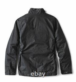 Barbour Toman Wax Jacket Coat Navy Blue MWX1460NY51 New U. K XL U. S Large L