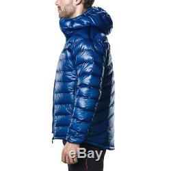 Berghaus Mens Ramche Micro Down Jacket Top Blue Sports Outdoors Hooded Warm