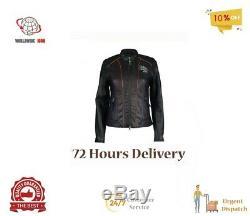 Brand New Harley Davidson Ladies Jacket Real Leather New Fashion US STOCK