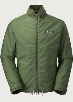 Buffalo Belay Jacket Pertex Military Windproof Olive Green NEW