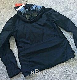 C. P. Company Nyfoil Goggle Jacket in Total Eclipse RRP £595 Brand New With Tags