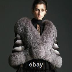 Chinchilla Fur Stole Brand New Handmade Fur maker COPENHAGEN MEXA