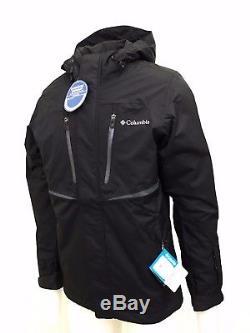 Columbia Mens Omni-Tech Blk Frozen Granular Jacket (Retail $175)