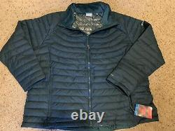 Columbia Women's Plus Size 3XL Omni Heat Green New Coat Winter 3X Jacket Puffy