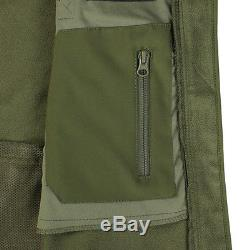 Condor 602 Tactical Summit SoftShell Jacket Cold Weather YKK Zip with Patch Olive