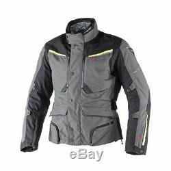 Dainese Sandstorm Goretex Black Gull Grey Waterproof Motorcycle Jacket New