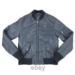Dolce & Gabbana Crown Logo Zipped Jacket In Black RRP £565