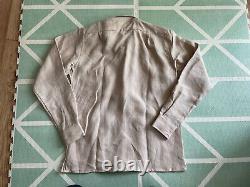 Drakes London 5 Pocket Chore Jacket Over-shirt Shacket Linen Size SMALL