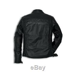 Ducati Urban Jacket Perforated Leather Motorbike Motorcycle Mens Jacket SALE