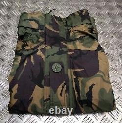 EX British Army Stock DPM Camo MVP Waterproof & Breathable Combat Jacket Large