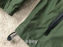 Emporio Armani Green Zip Blouson Hooded Jacket Coat 3z1b66 Large 52 New Tags