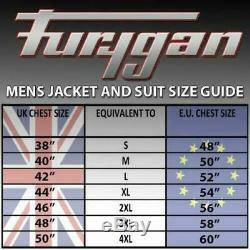 Furygan Atom Vented Textile Motorcycle Jacket Black
