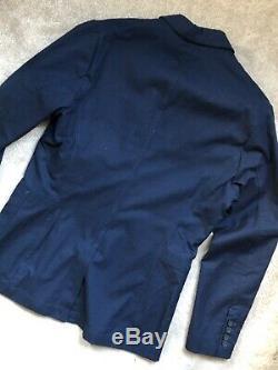 G-star Raw Lt Wt Ink Denim Shattor Omega Blazer Jacket Coat 50 New & Tags