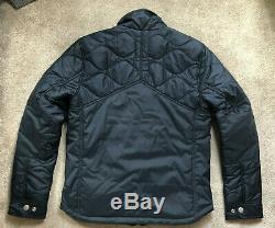 G-star Raw Men's Saru Blue Filch Padded Zip Jacket Coat Large New & Tags