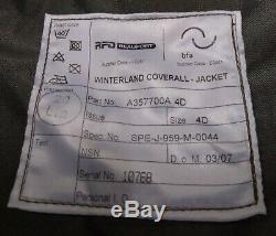Genuine British Issue RAF RFD Beaufort WaterProof Breathable MVP Aircrew Jacket