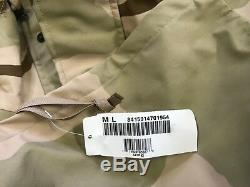 Gore-tex Jacket Camo Parka Cold Weather Desert Camouflage Nsn 8415-01-470-1954