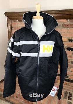 HELLY HANSEN Salt Power Jacket Waterproof Breathable Sailing Men's XL / Ebony