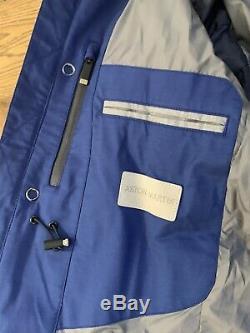 Hackett Aston Martin By Loro Piana Nautical Parka Jacket With Storm System £890
