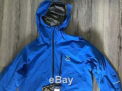 Haglofs Men's L. I. M Gore-Tex Jacket Large, Waterproof, Ultra Light, NEW