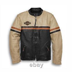 Harley Davidson Racing Leather Jacket For Men