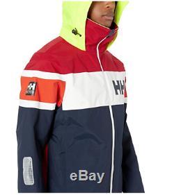 Helly Hansen Authentic SALT FLAG JACKET Hood 33909 599 Waterproof Windproof Navy