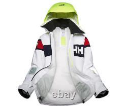 Helly Hansen Women's W SALT FLAG JACKET 33923-001 Waterproof Windproof White NEW