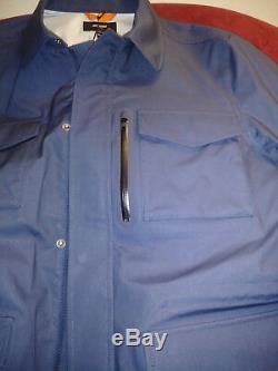 Jack Spade Small waterproof military jacket blue P2RU2423