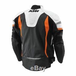 Ktm Power Wear Ktm Motorcycle Leather Jacket Ktm Motogp Leather Jacket All Size