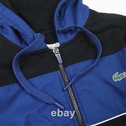 Lacoste Sport Tech Hooded Track Jacket Hoodie Mens 9 3XL XXXL BNWT New Hoody Top