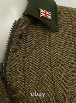 Ladies Derby Tweed Jacket Waterproof Breathable Fitted Hunting Shooting Fishing