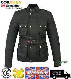 Ladies Women Motorbike Motorcycle Waterproof Cordura Textile Jacket Ce Armoured
